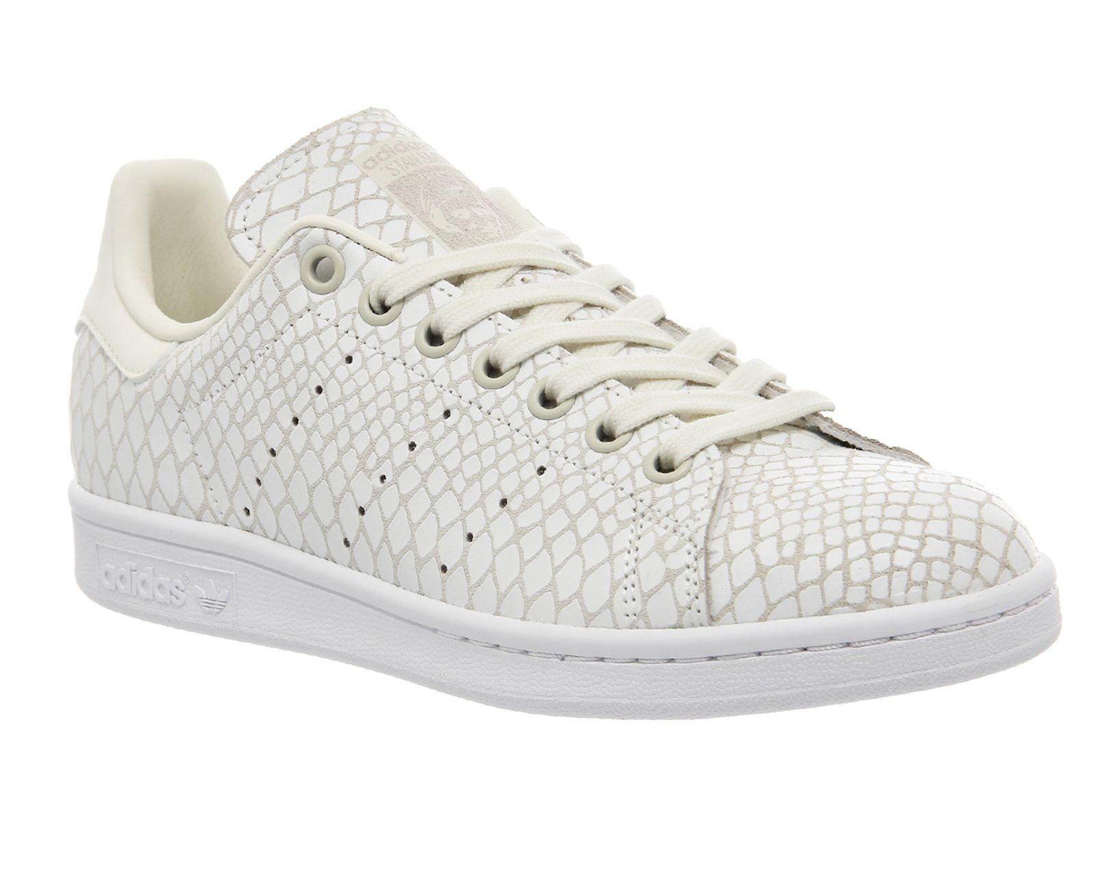 watch 96eae 261f3 Buy Off White Reptile W Adidas Stan Smith from OFFICE.co.uk ...