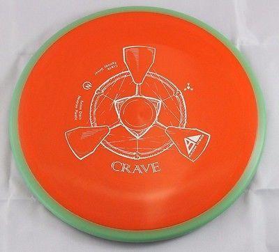 Neutron Crave Driver 173g Axiom Discs Red-Orange Disc Golf Disc