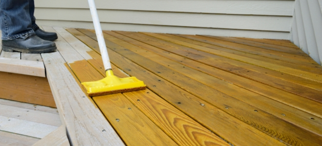 Before You Decide To Stain Your Cedar Decking Be Sure To Take These Tips To Get The Best Longest Lasting Re Wood Deck Stain Best Deck Stain Deck Stain Colors