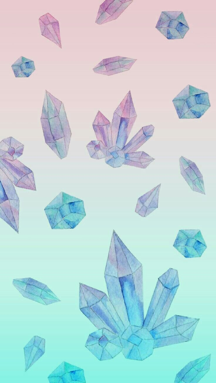 Cute Trippy Crystal Wallpaper Phone Background Healing Love Edit By Dixiee Normous
