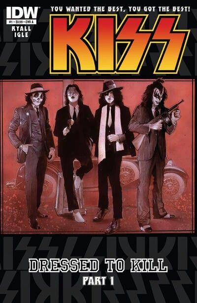 KISS (IDW, 2012) #1 - Dressed to Kill