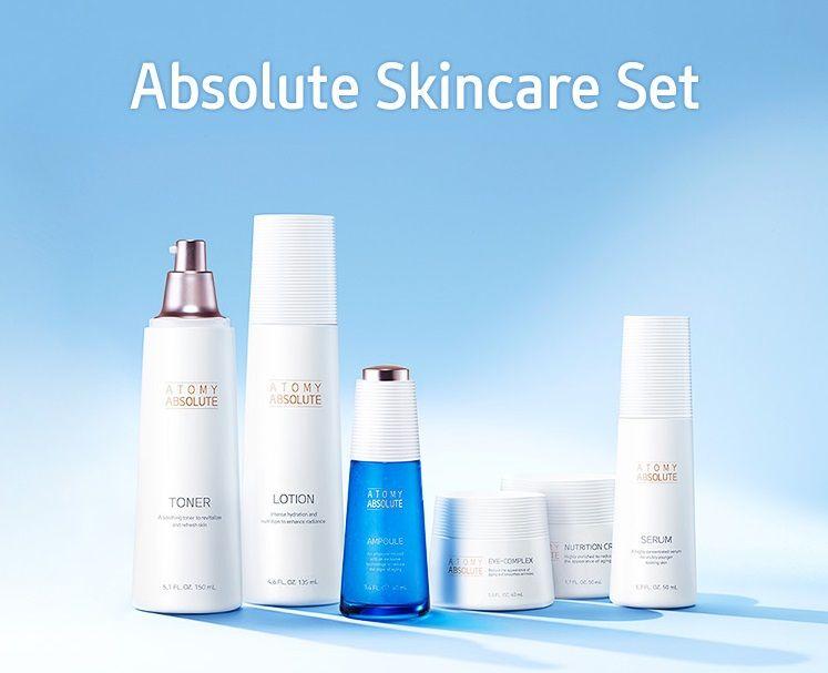 Absolute Skincare Set Skincare Set Skin Care Lotion