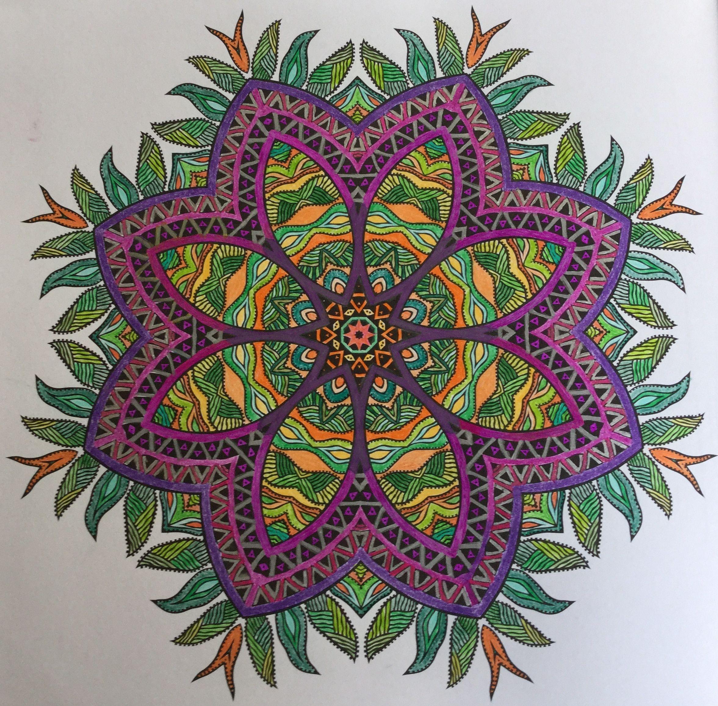 Enige echte mandala kleurboek nr.1-14