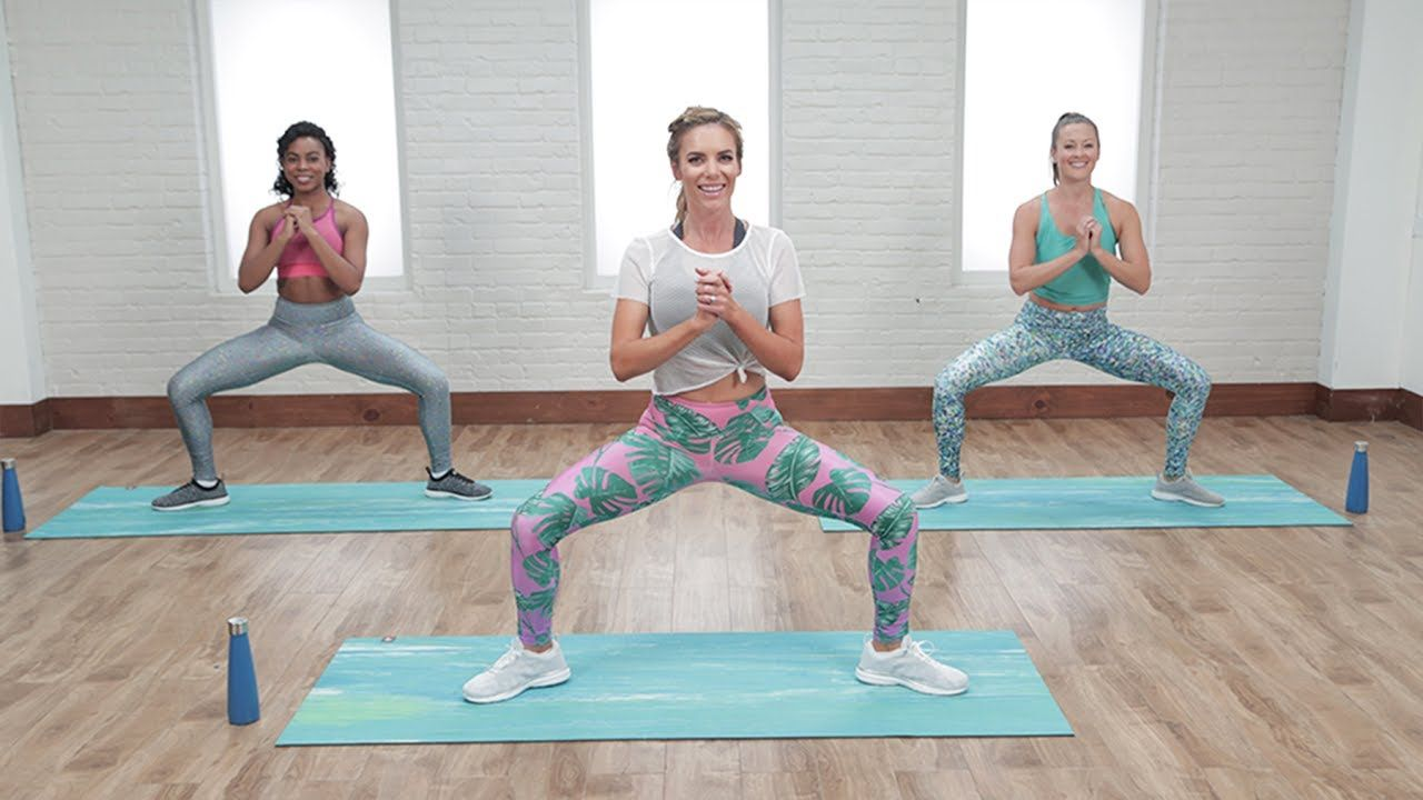 Minute abs u bootytoning workout class fitsugar exercise