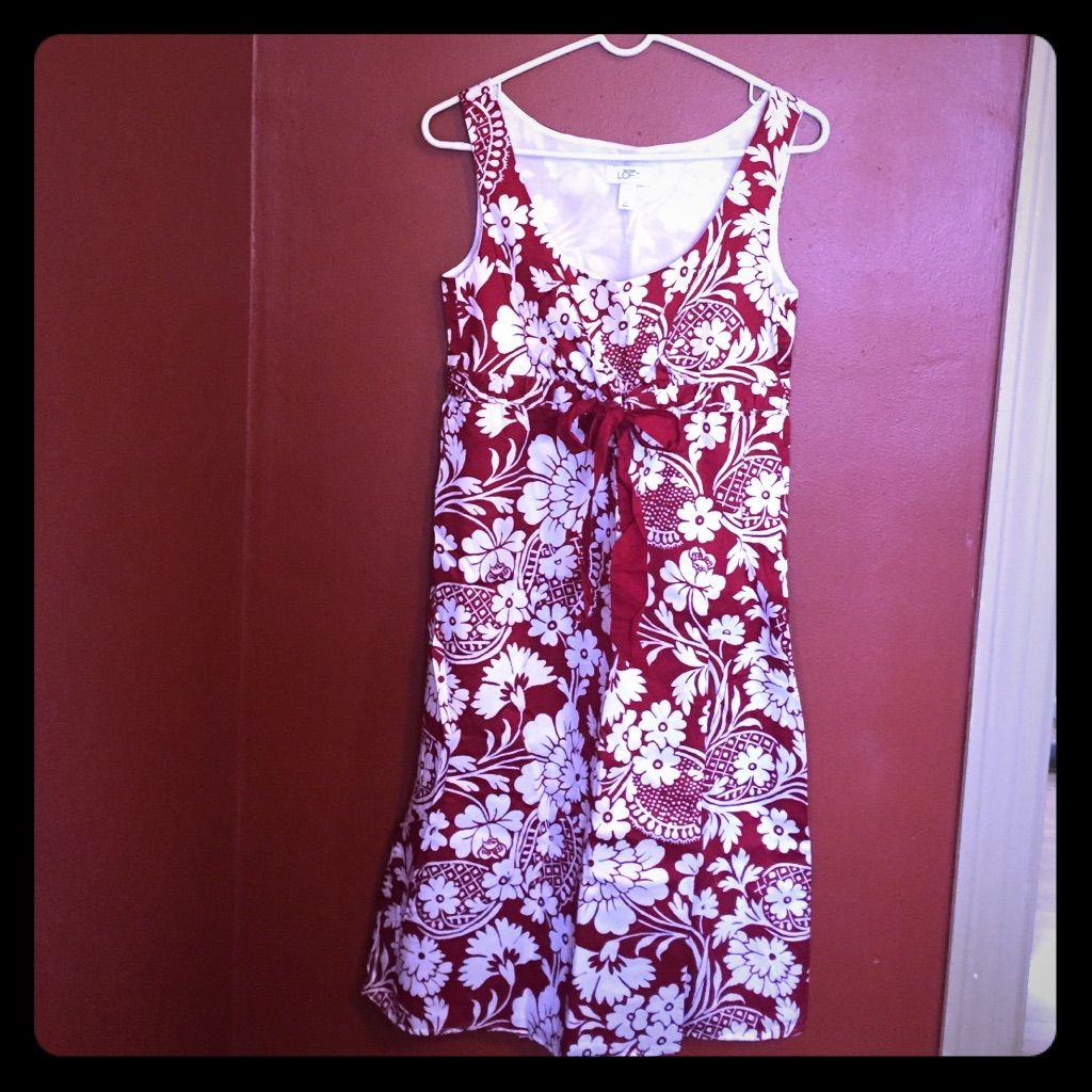 Nwot Anne Taylor Loft Flowered Dress