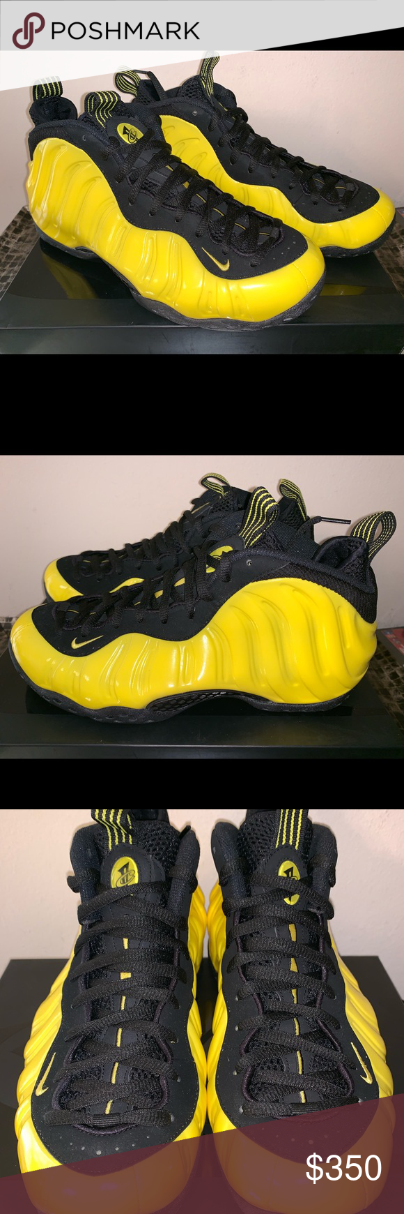 virar interior de primera categoría  Nike Air Foamposite One Optic Yellow Wu Tang Nike SKU Number is 314996-701.  Shoes are brand new dead stock in the original box and have n… | Nike air,  Fashion, Nike
