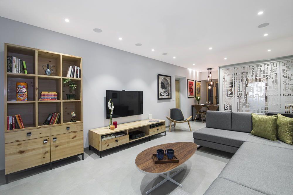 Nitido S Best Interior Designers Design Living Room At Parel
