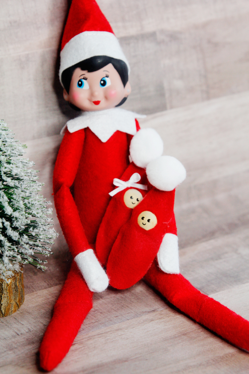 how to make a baby elf on the shelf SUPER EASY Elf on