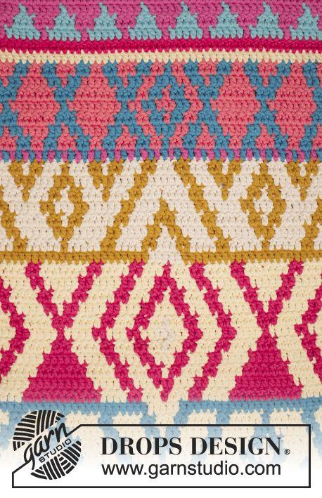 Free Pattern | Tapis au crochet | Pinterest | Mochilas, Trapillo y ...