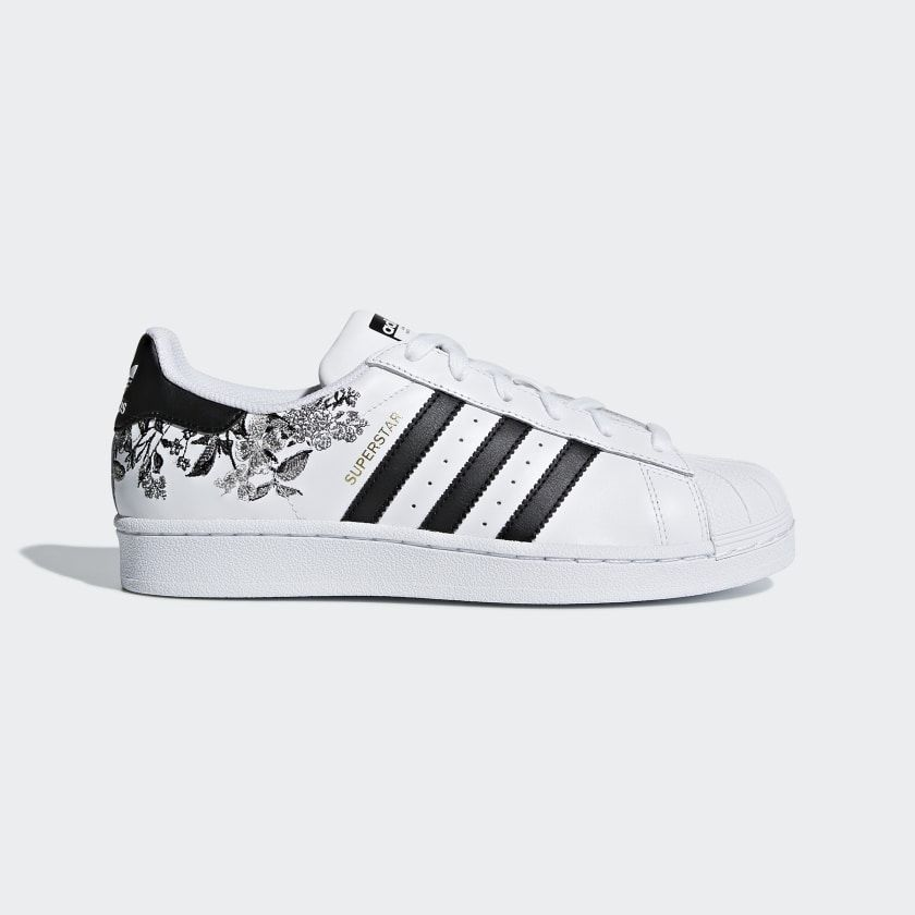 Superstar Shoes Cloud White / Core Black / Gold Metallic ...
