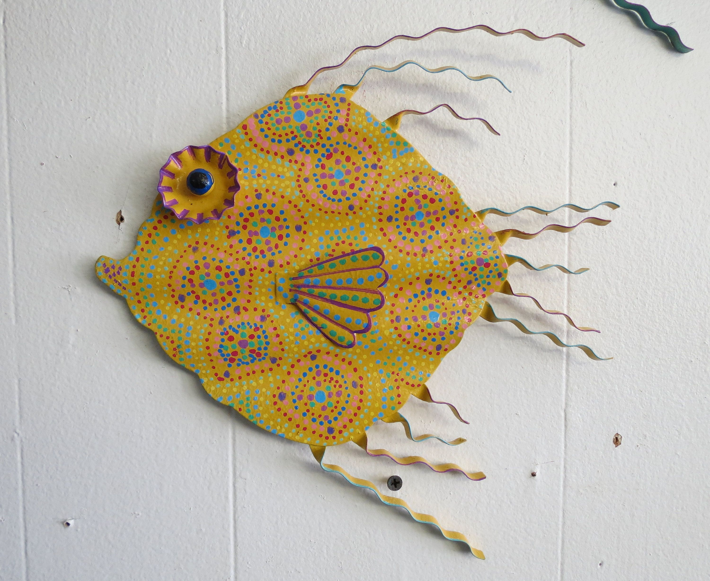 d unique imports wall metal cor decor fish of woodland reviews amp