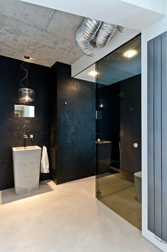 Haus Einrichten Wohnkonzept Offenbart Die Schonheit Vom Sichtbeton Haus Einrichten Badezimmer Design Moderne Einfamilienhauser
