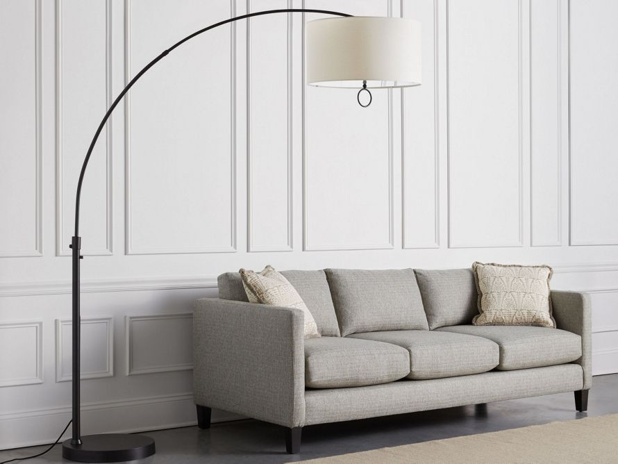 Arc Floor Lamp Arhaus Furniture Contemporary Floor Lamps Reading Lamp Floor Lamp
