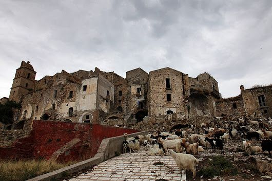 Craco - Abondoned village in Matera