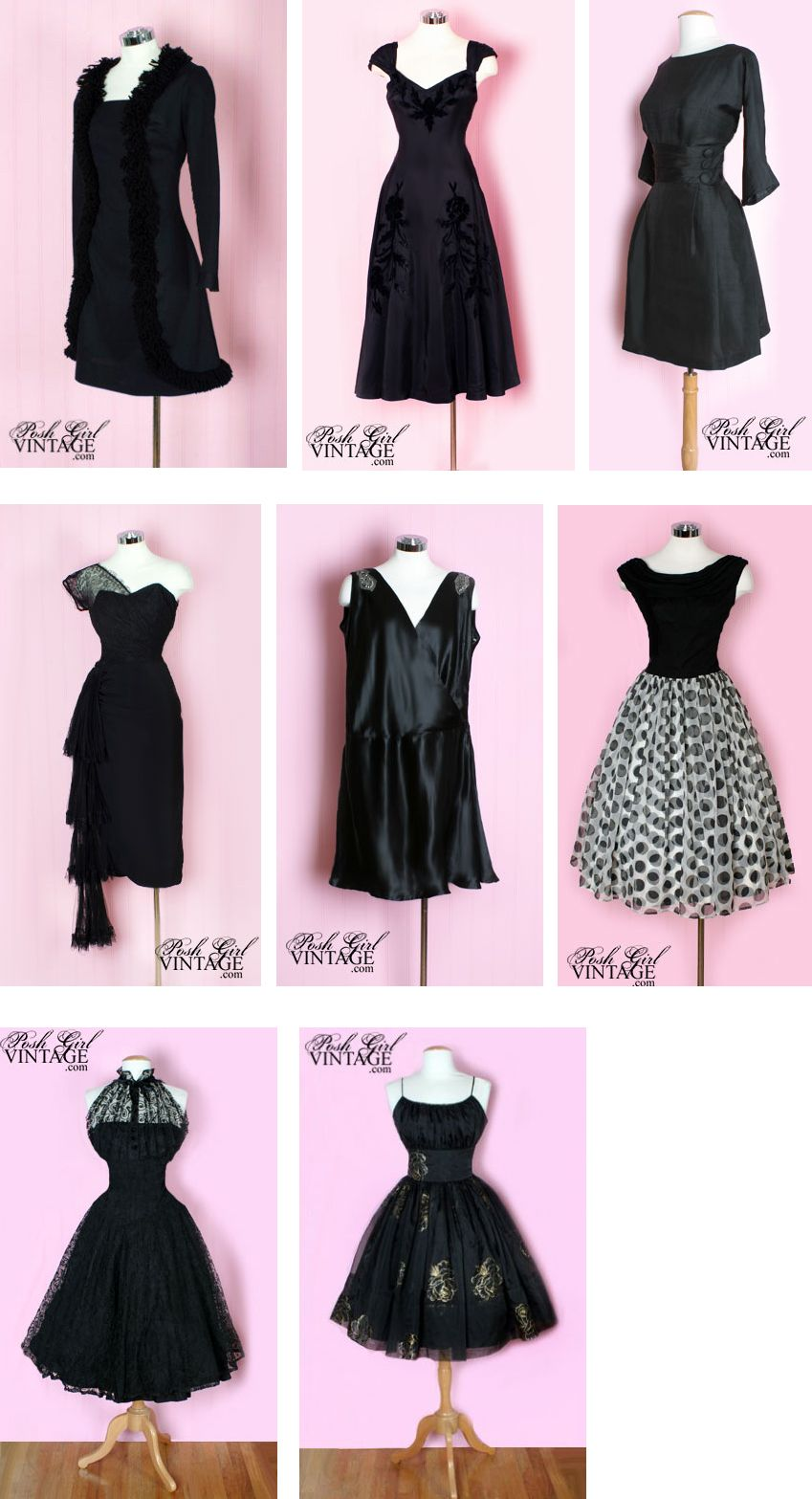1000  images about Little black dress on Pinterest - 50s dresses ...
