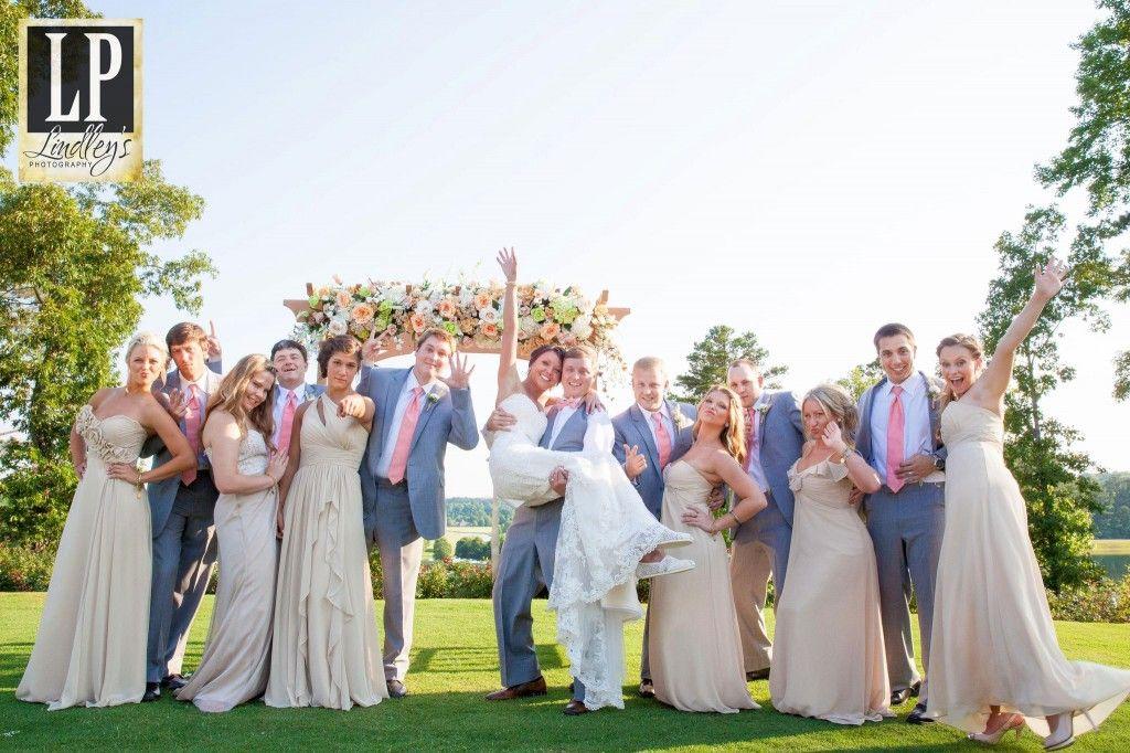 Our bride Aurrie had each bridesmaid pick their own Liz Fields style ...