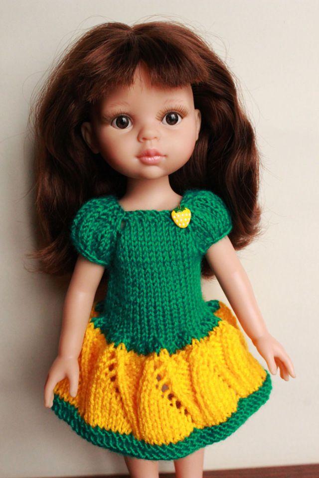Любое платье 250р. Все платья подходят паолочкам, подружкам Гоц 27см, куколкам Эля Весна и другим такого формата. продано-значит пряжа такого / 250р