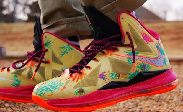 Nike LeBron 10 Zombie in South Beach