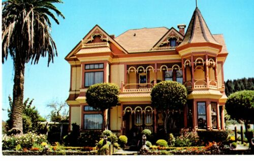 Ferndale California Gingerbread Mansion A Gothic Victorian Unposted Postcard Ebay With Images Mansions Ferndale California Victorian Gothic