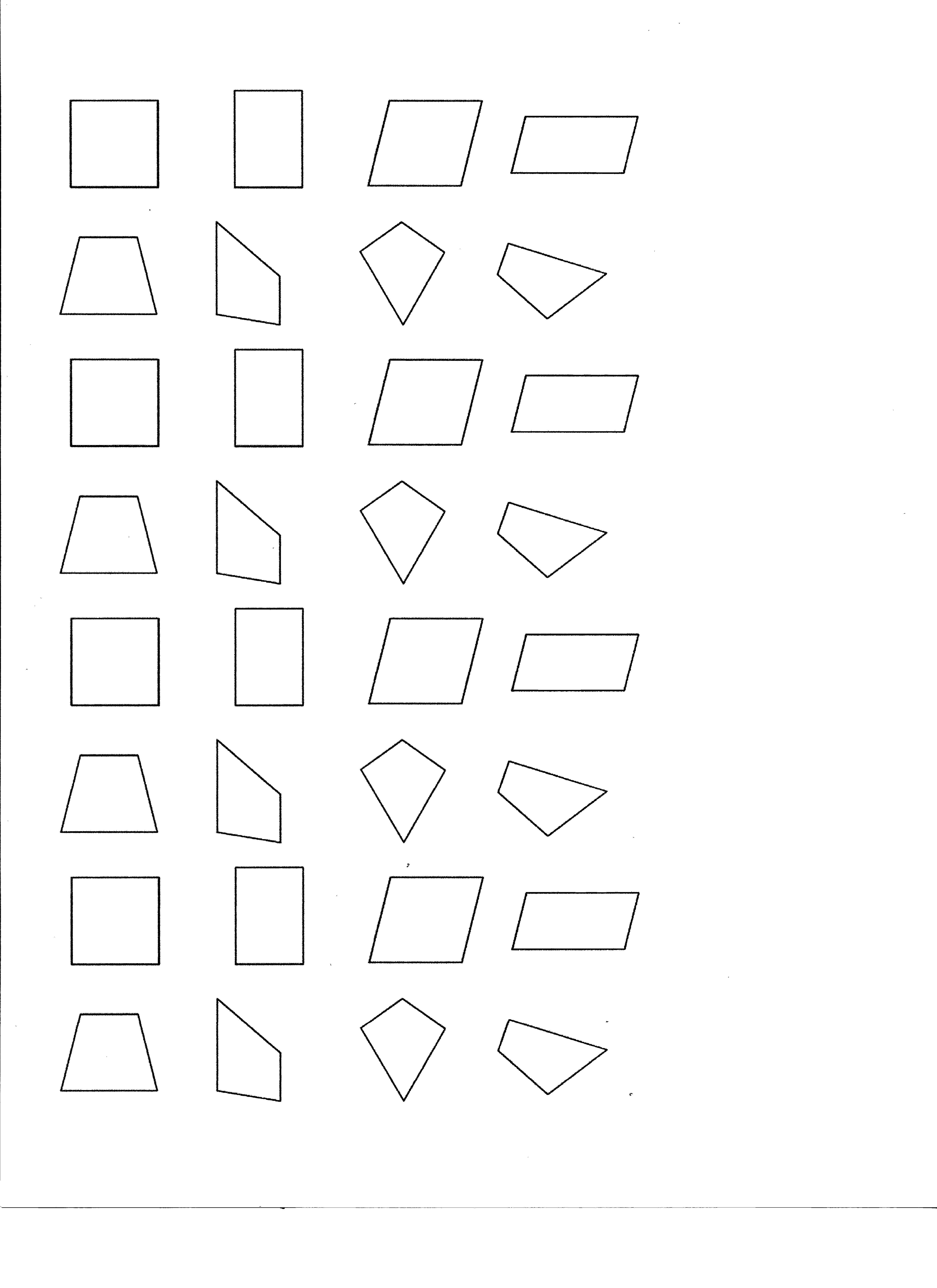 small resolution of Classifying Quadrilaterals Worksheets   Printable Worksheets and Activities  for Teachers