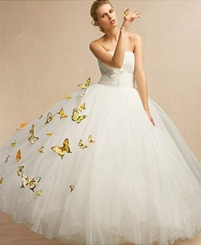 Western wedding dress innovations and