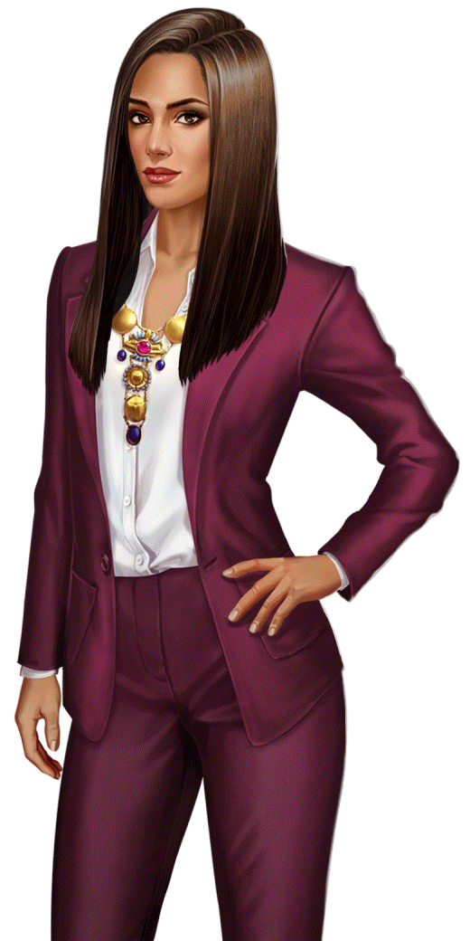 Kamilah Sayeed   Choices Bloodbound in 2019   Character art