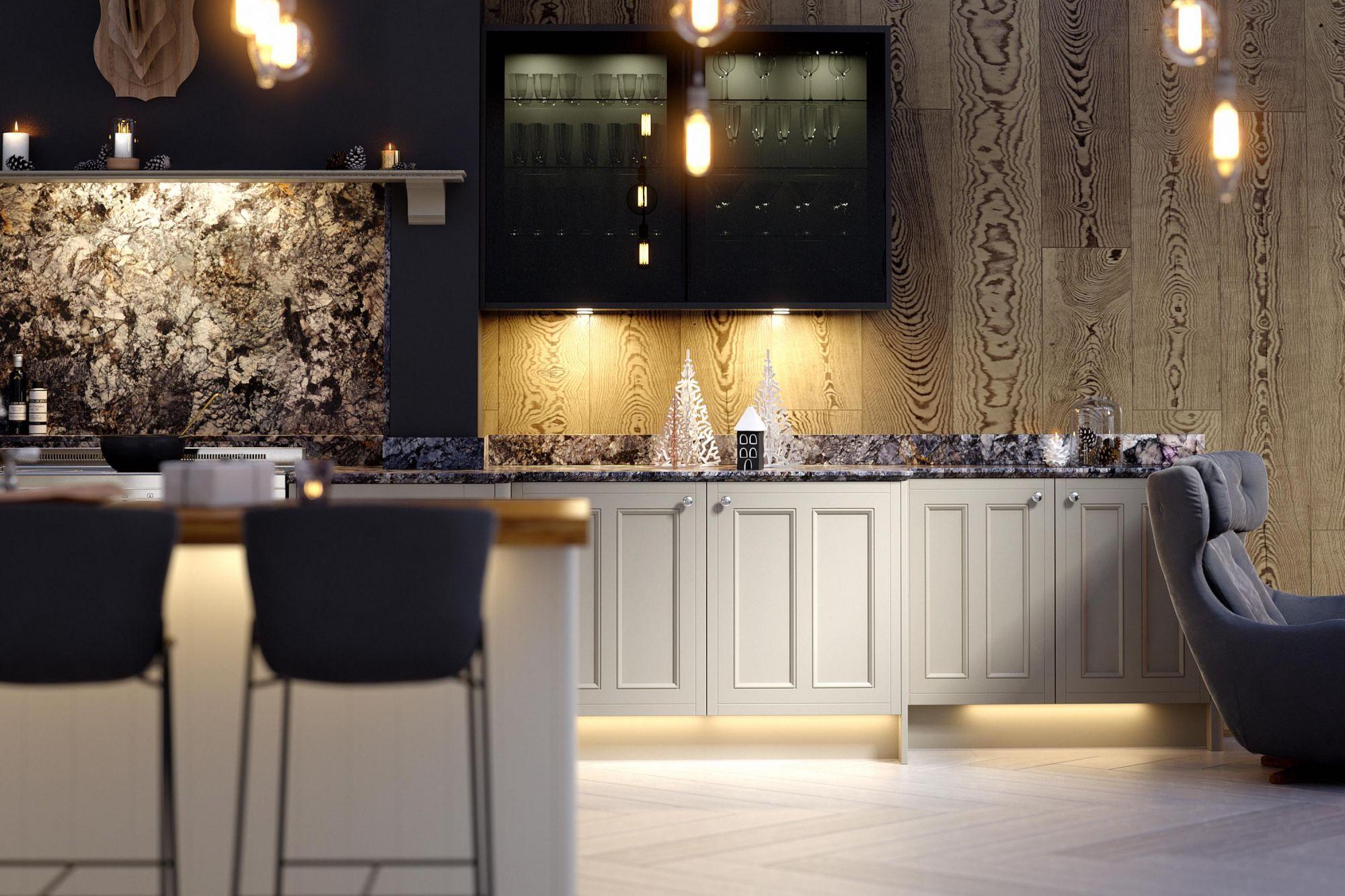 Country kitchen in nimbus and white kitchens pinterest kitchen