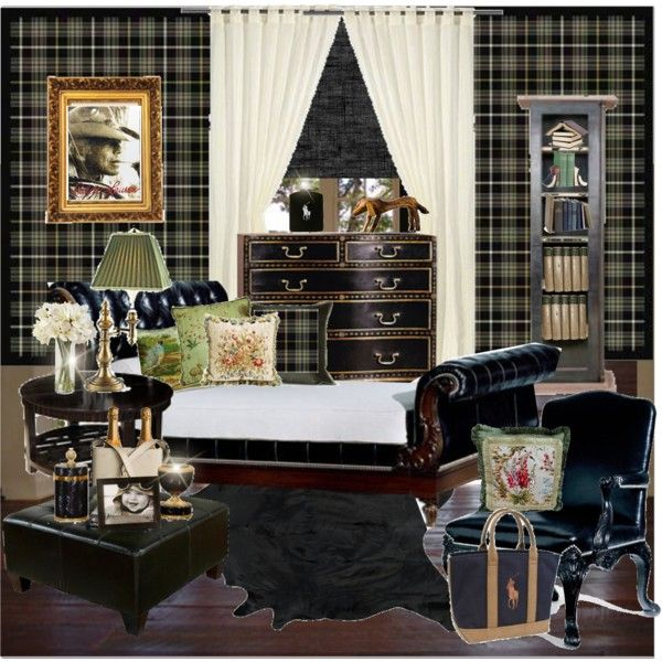 male bedroom ralph lauren style by gio beautiful life on polyvore featuring interior - Ralph Lauren Decorating Style