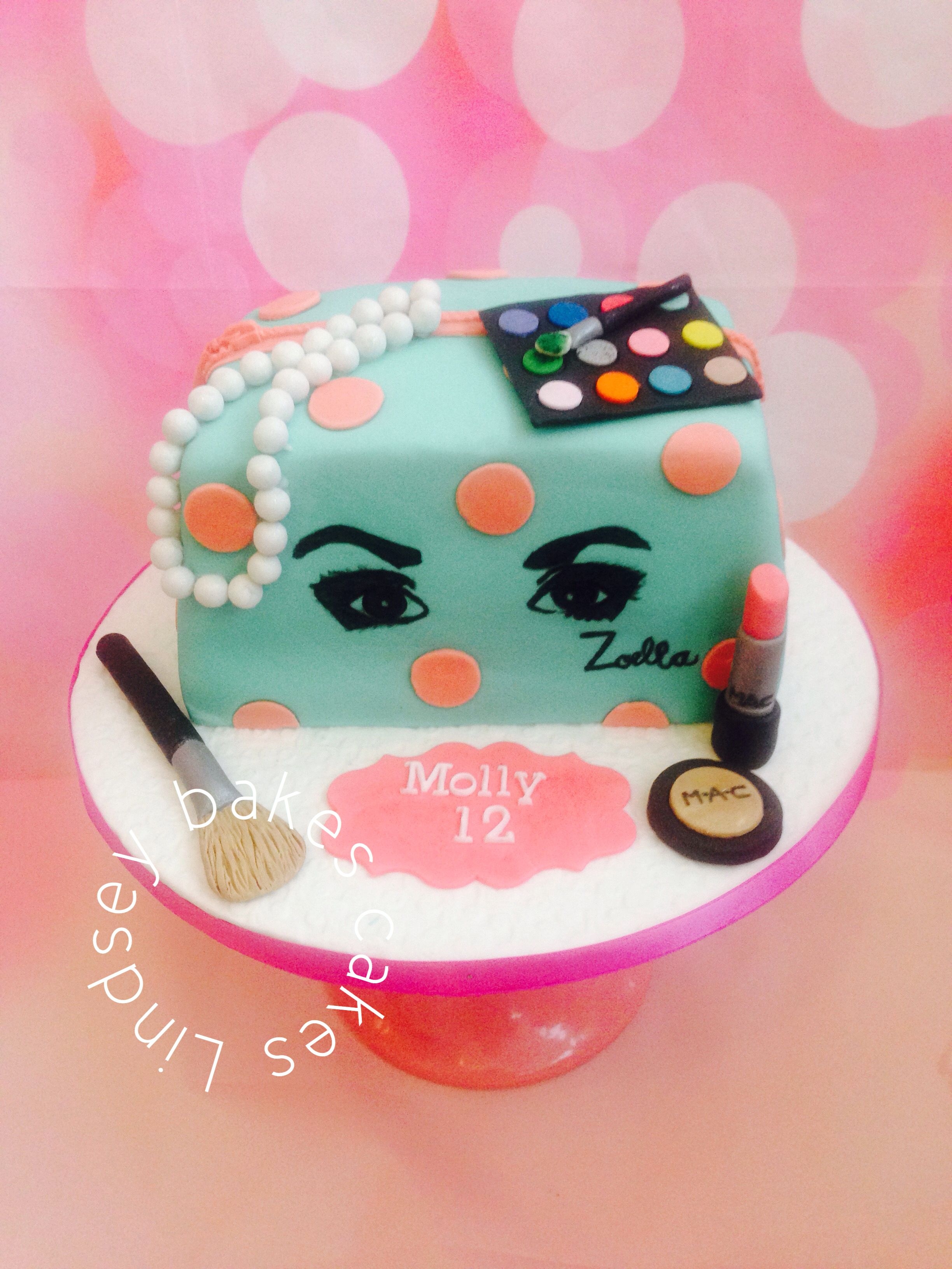 Zoella Cake Food Sweet Tooth Girly Birthday Cakes