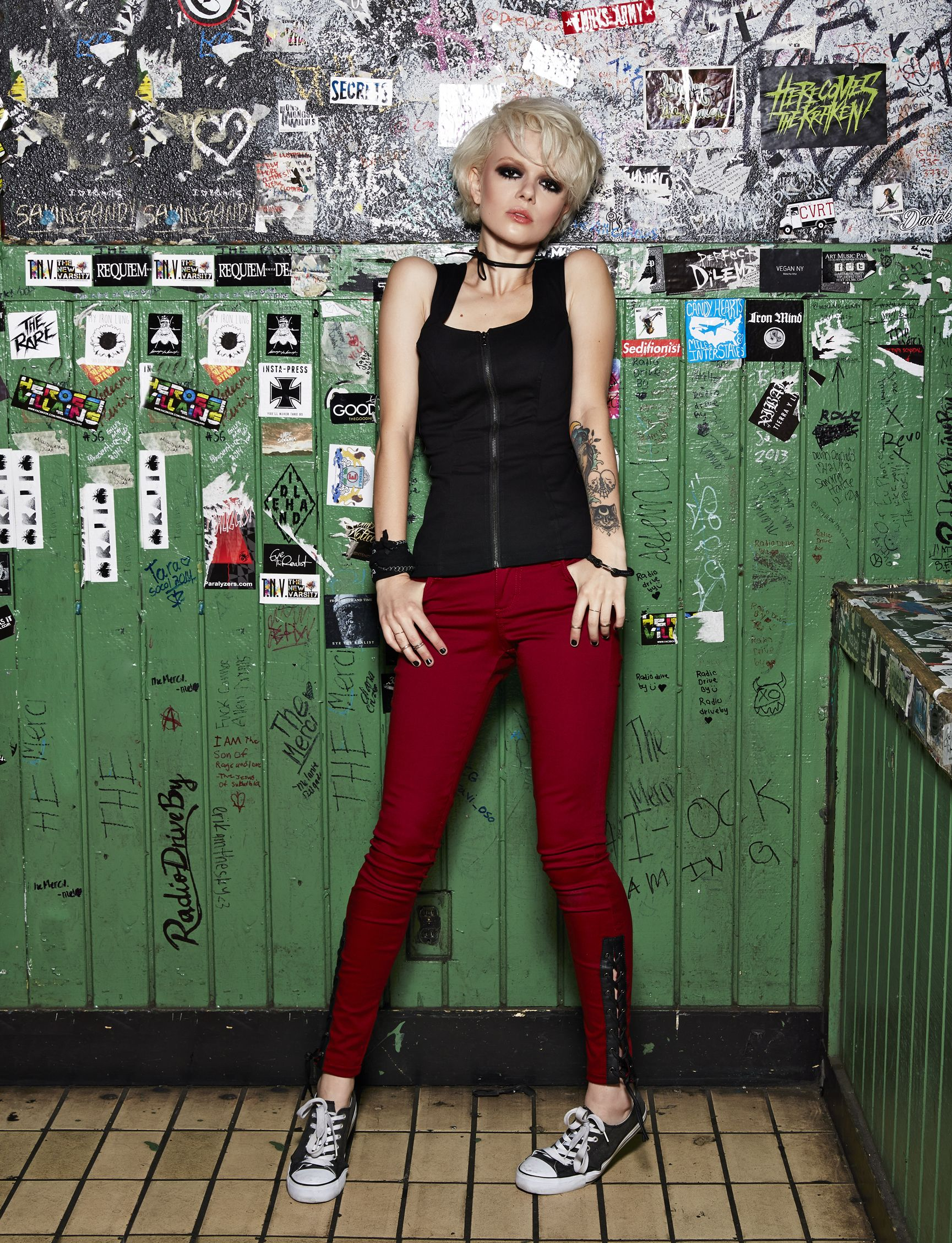 66c1375e59 Joan Jett x TRIPP NYC exclusively at Hot Topic | Full outfits | Joan ...