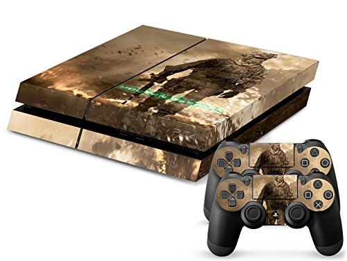 Faithion Ps4 Console Designer Skin for Sony Playstation 4 System Plus Two2 Decals For Ps4 Dualshock Controllercall of Duty Mw3 *** Visit the image link more details. Note:It is affiliate link to Amazon.