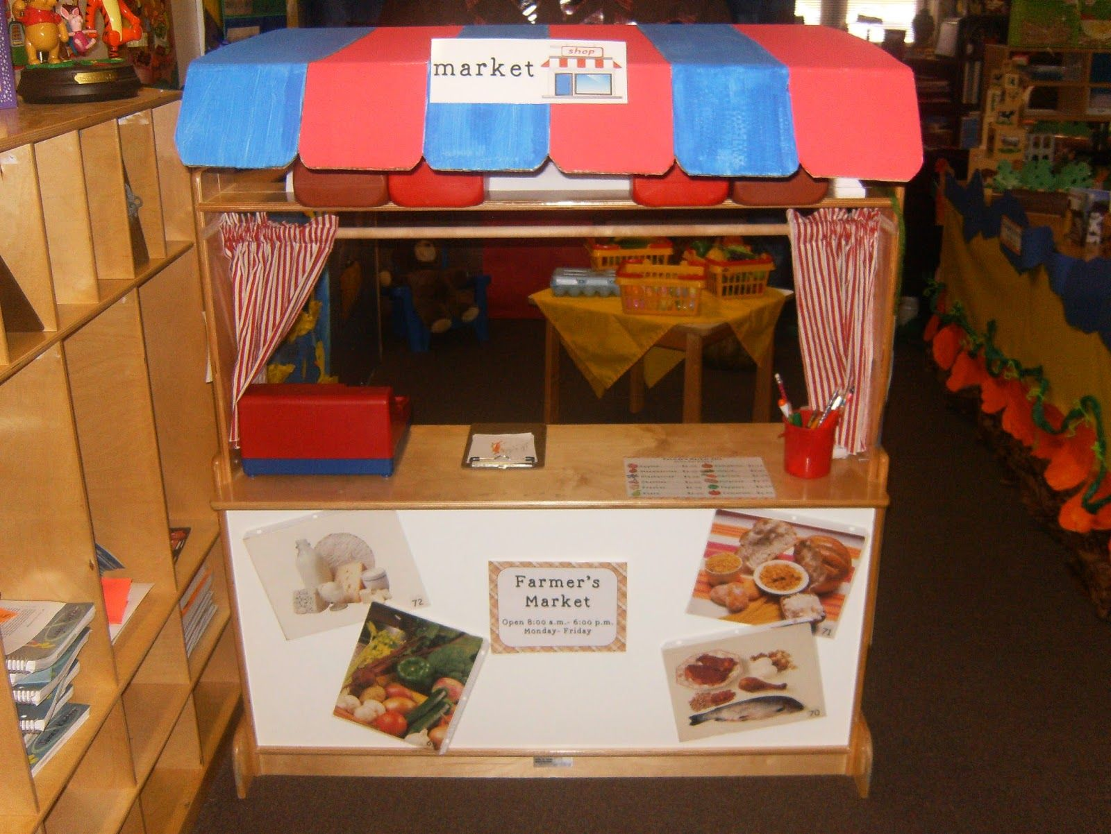 Farmer S Market For Dramatic Play Center In Preschool