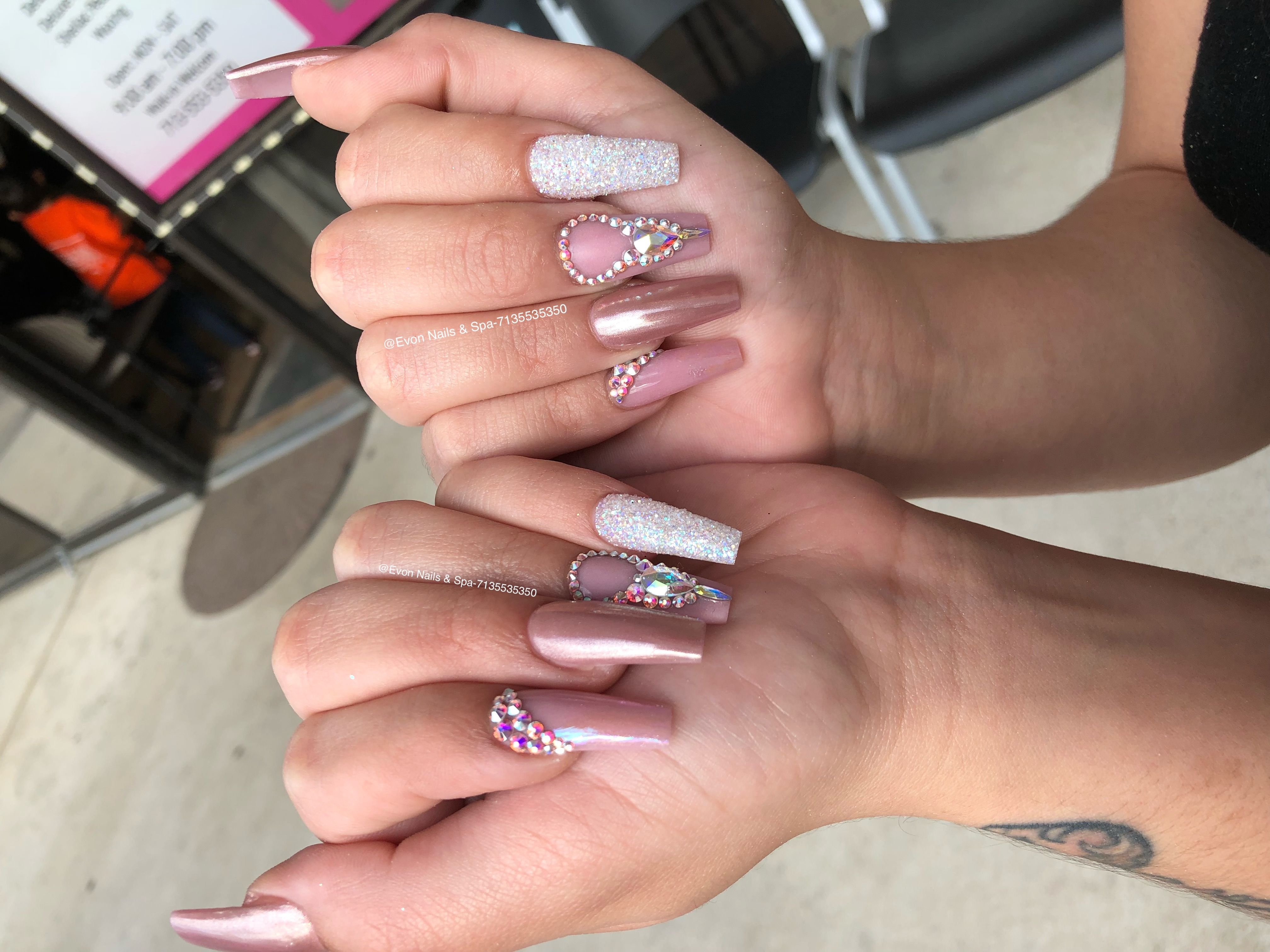 Evon Nails Spa 13155 Westheimer Rd Houston Tx 77077 Open