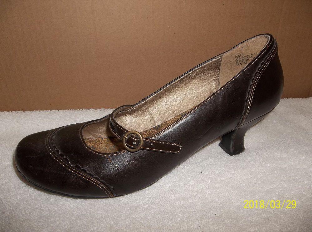 eedc3cb84cd9 Women s Dark Brown MUDD Heels SZ 9.5 Medium GUC  fashion  clothing  shoes
