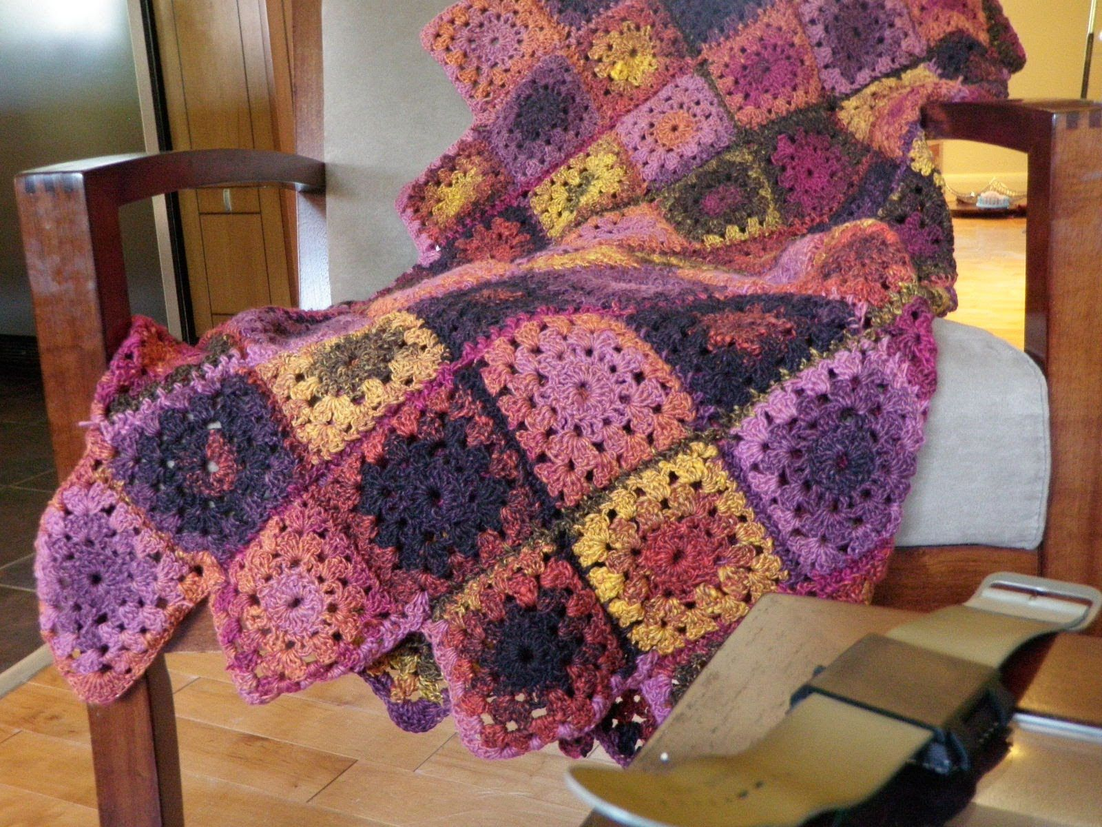 Granny Square Afghan Pattern Magnificent Decoration