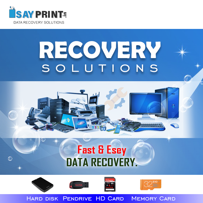 We specialize in data recovery from all kinds of internal