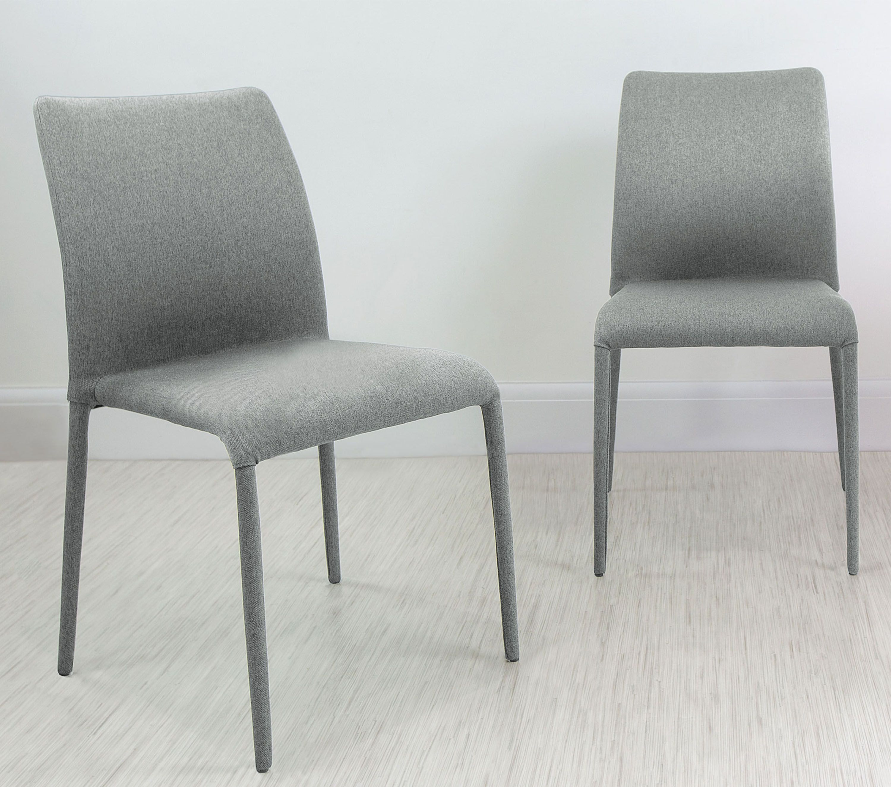 Riva Stackable Fabric Dining Chair