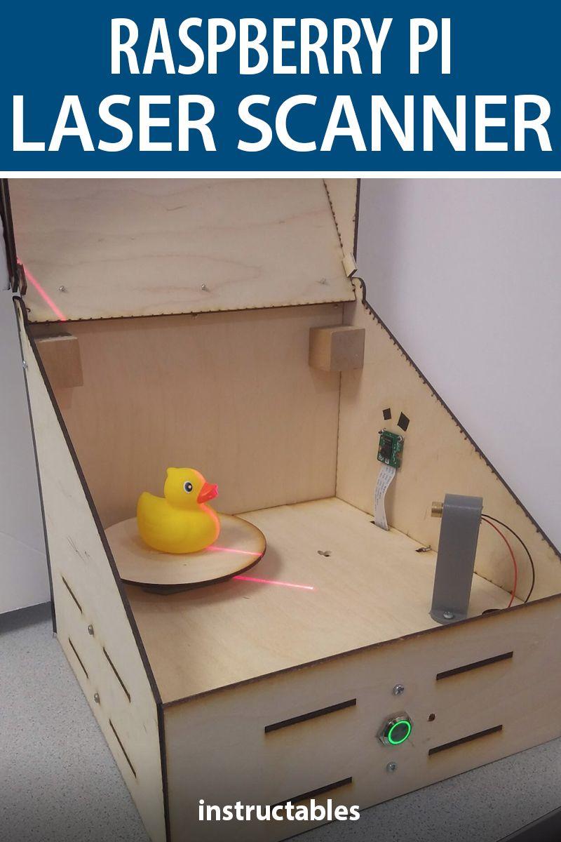 Raspberry Pi Laser Scanner