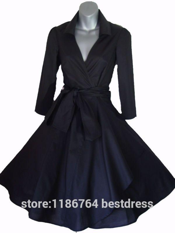 73ad9f523 vestido años 50 mangas - Buscar con Google   vestidos k fabricar en ...