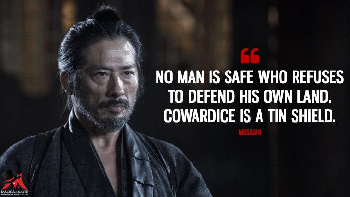 No man is safe who refuses to defend his own land