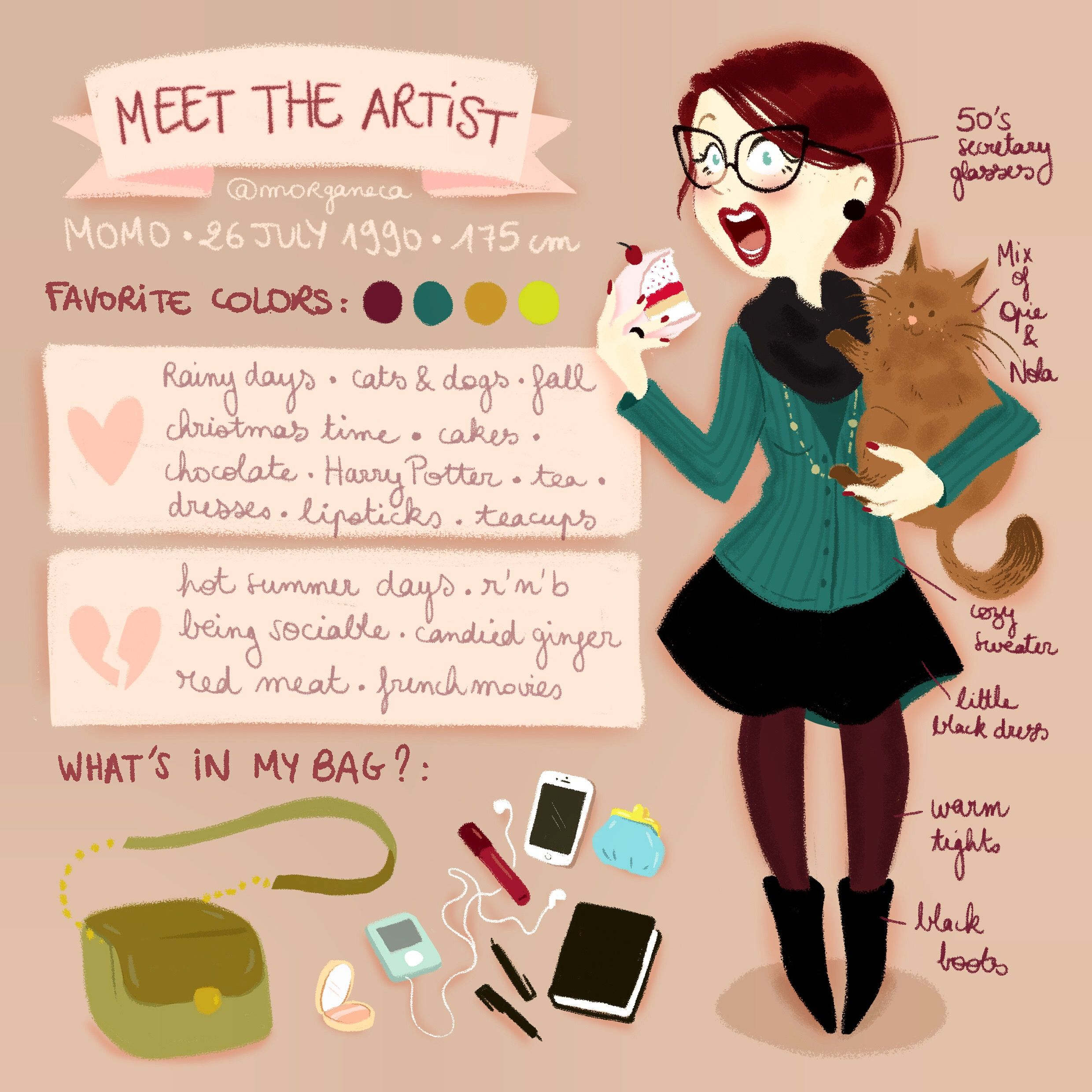Meettheartist From Morgane Carlier This Would Be Great For First