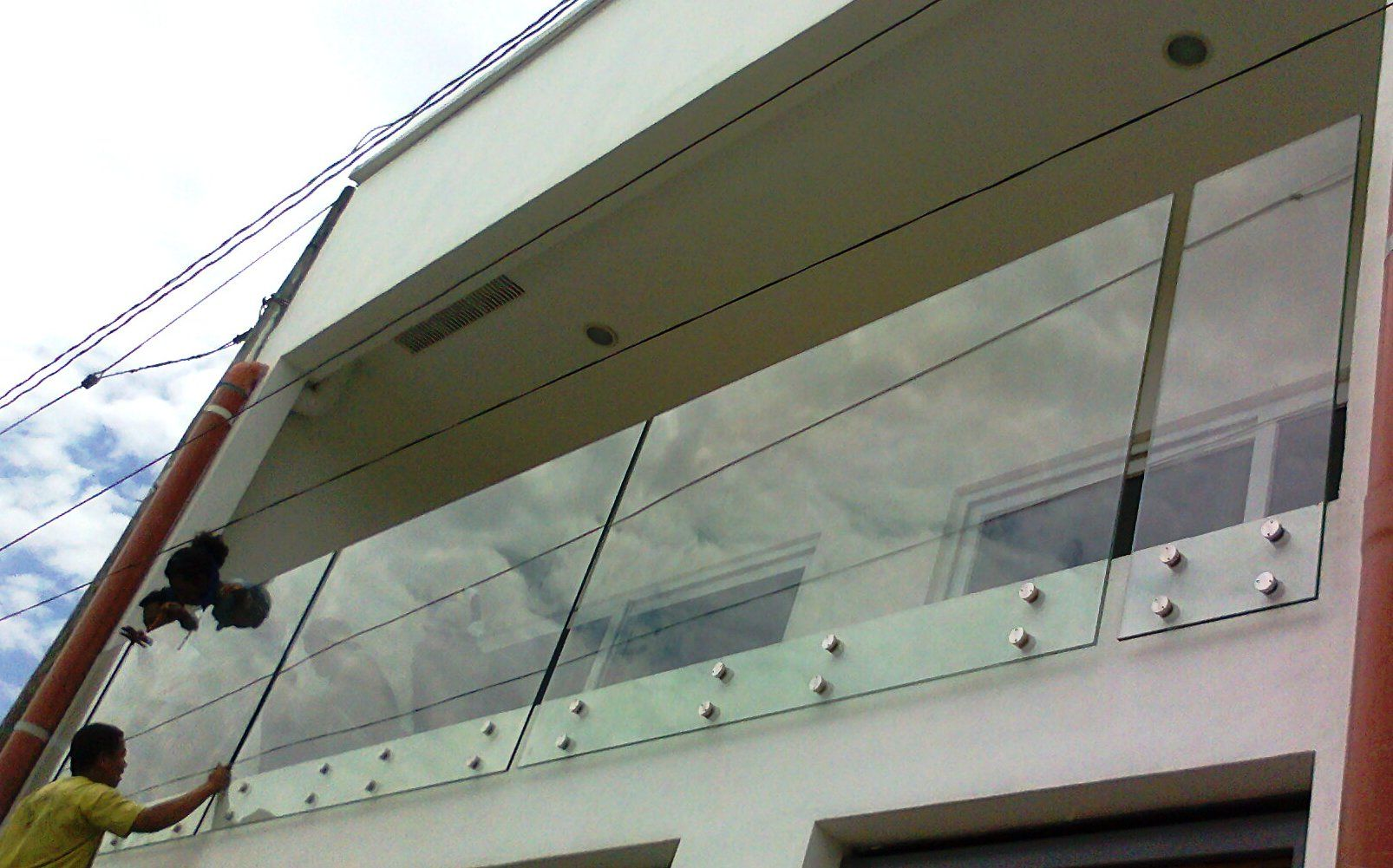 Glass railings for decks - Glass Railings Glass Railing