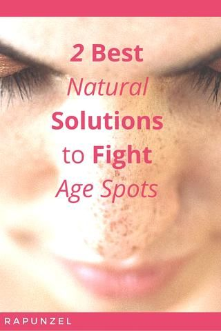 2 top natural solutions to age spots  age spots on face