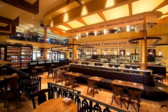 Max Brenner Chocolate Bar Nyc Restaurants Stores Hotels