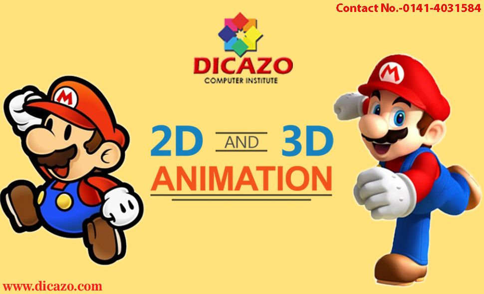 Animation Courses And Classes In Jaipur Animation Institute Animation 3d Animation