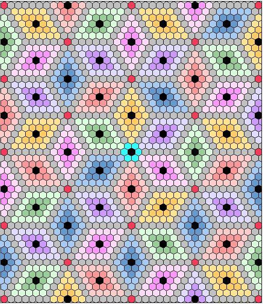 Quilting Templates Hexagon : Quilt - Hexagons on Pinterest English Paper Piecing, Hexagon Quilt and Hexagons
