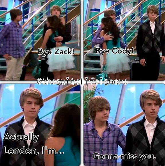Zack, Cody, and London Quote