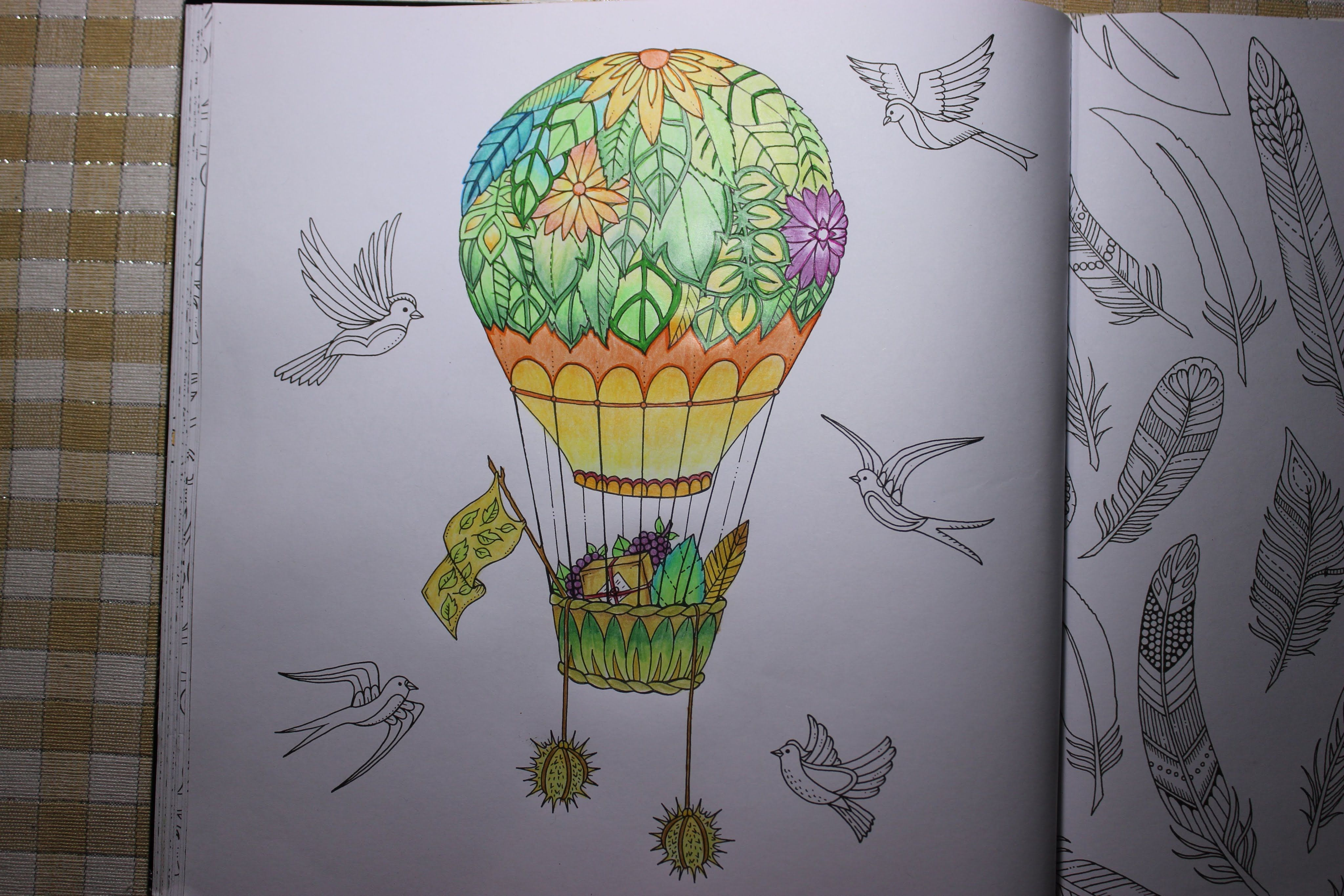 Enchanted Forest Coloring Book Air Balloon Part 2 Forest Coloring Book Enchanted Forest Coloring Book Coloring Books