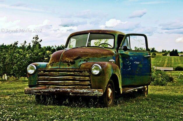 Rusty Car Old Trucks Vintage Pickup Trucks Trucks