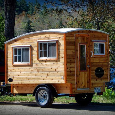 The Terrapin handgemachter Holzwohnwagen für Minimalisten Utopia
